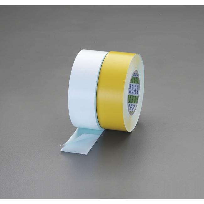 ESCO エスコ 接着剤・テープ類・梱包資材 100mmx50mラインテープ(白)