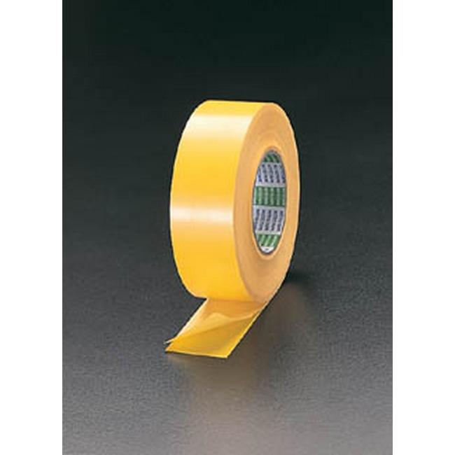 ESCO エスコ 100mmx50mラインテープ(黄)
