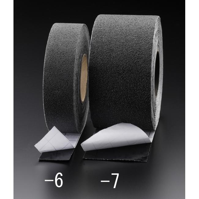 ESCO エスコ 接着剤・テープ類・梱包資材 100mmx18.3m滑り止めテープ(耐水・耐油/黒)