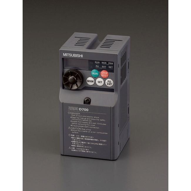 ESCO エスコ その他、配線用ツール 200V/0.2kwインバーター(3相モーター用)