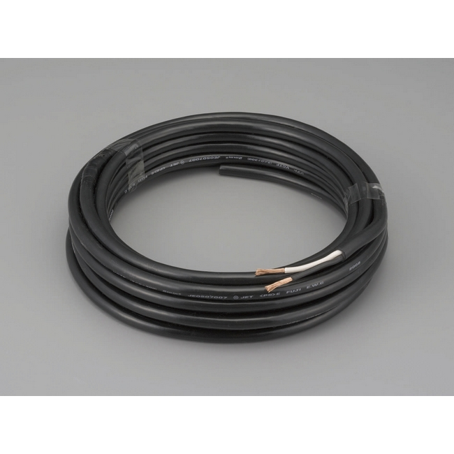 ESCO エスコ 0.75mm2x30m/2芯[2種EPゴム]キャプタイヤケーブル