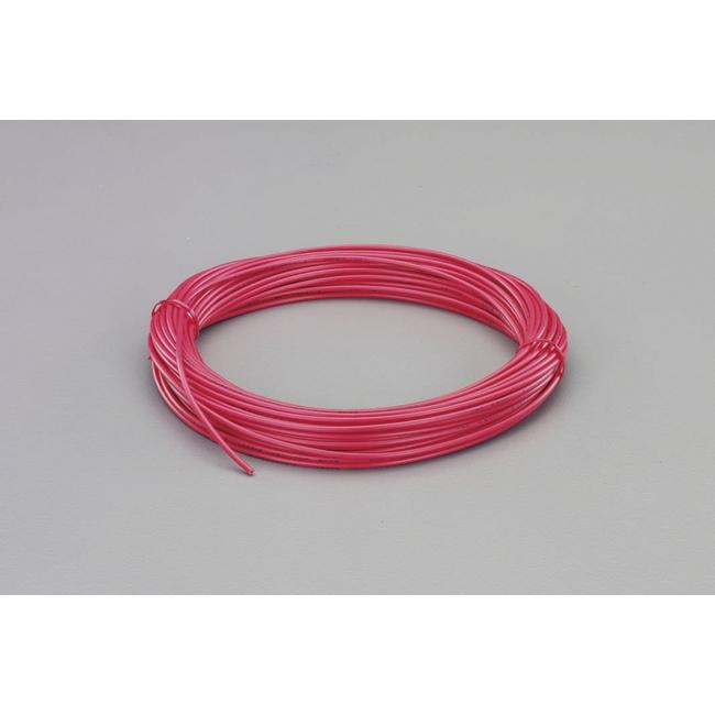 工具 ESCO エスコ EA940AM-74B  ESCO エスコ 配線関連 0.75mm2x100mビニールコード[VSF](黒)