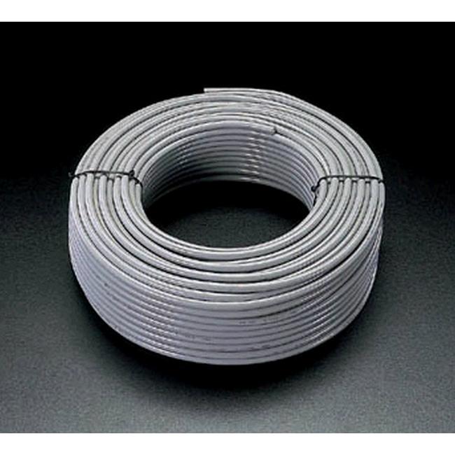 ESCO エスコ 配線関連 600V/20A/50mビニールキャプタイヤケーブル(2芯)