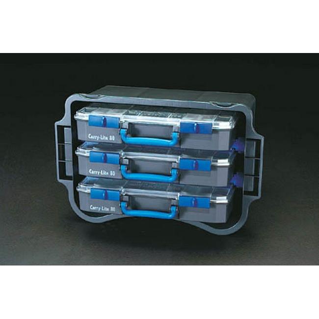 ESCO エスコ その他、工具箱(収納) 3BOXトランスポーター