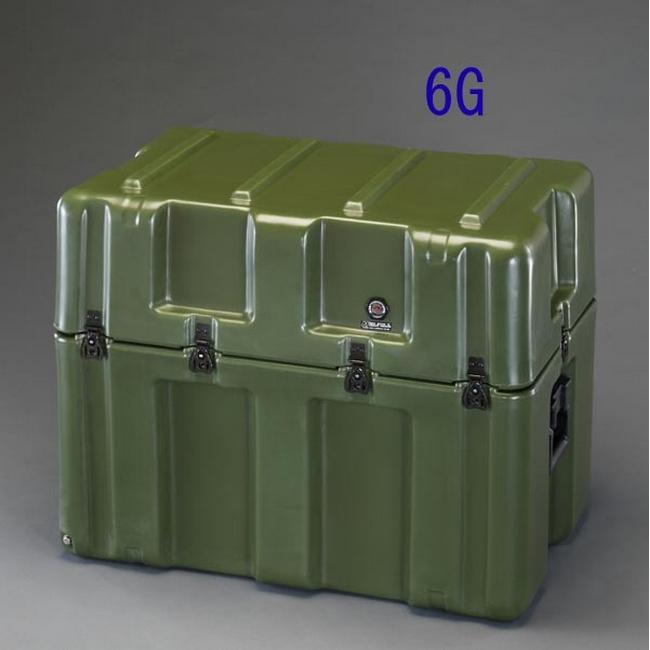 ESCO エスコ トレー本体 736x457x609mmストレージケース(キャスター付/OD色)