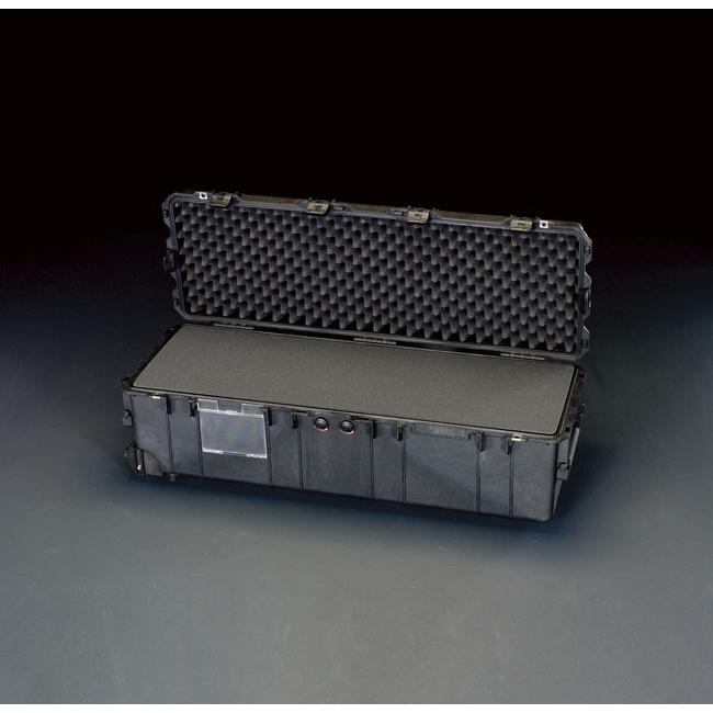 ESCO エスコ その他、工具箱(収納) 1040x328x318mm/内寸万能防水ケース(黒)