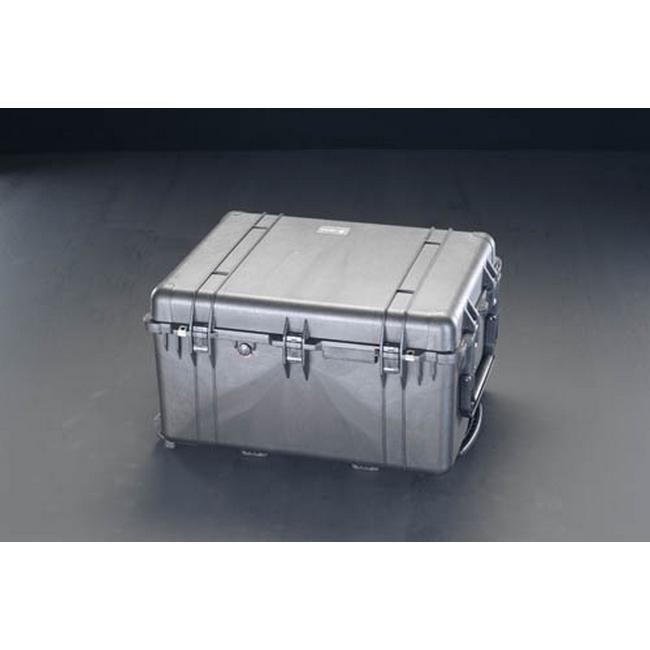 ESCO エスコ その他、工具箱(収納) 700x530x390mm/内寸万能防水ケース(黒)