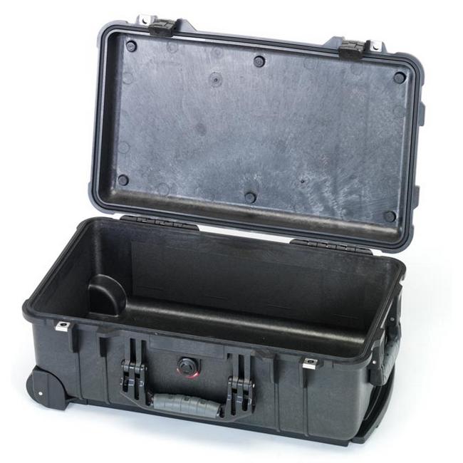 ESCO エスコ その他、工具箱(収納) 500x280x193mm/内寸防水ケース(ウレタン無)黒
