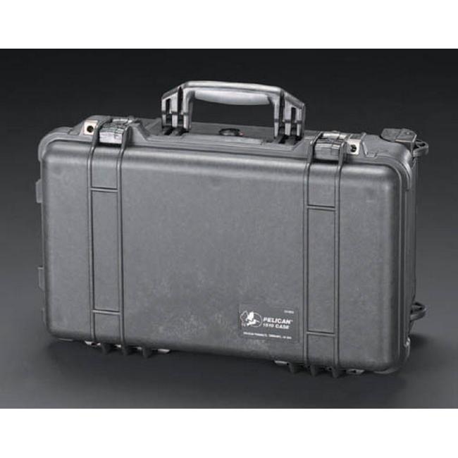 ESCO エスコ その他、工具箱(収納) 500x280x193mm/内寸万能防水ケース(黒)