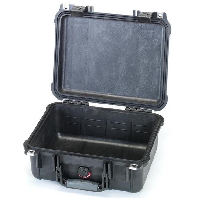 ESCO エスコ 371x258x152mm/内寸防水ケース(ウレタン無)黒