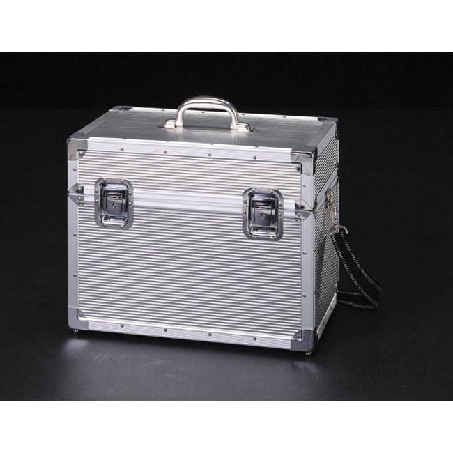 ESCO エスコ 450x260x350mm工具箱(アルミ製)