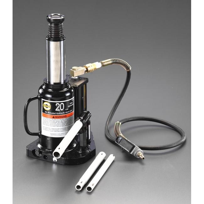 ESCO エスコ その他、ガレージツール 12t エアーコントロール油圧式ジャッキ