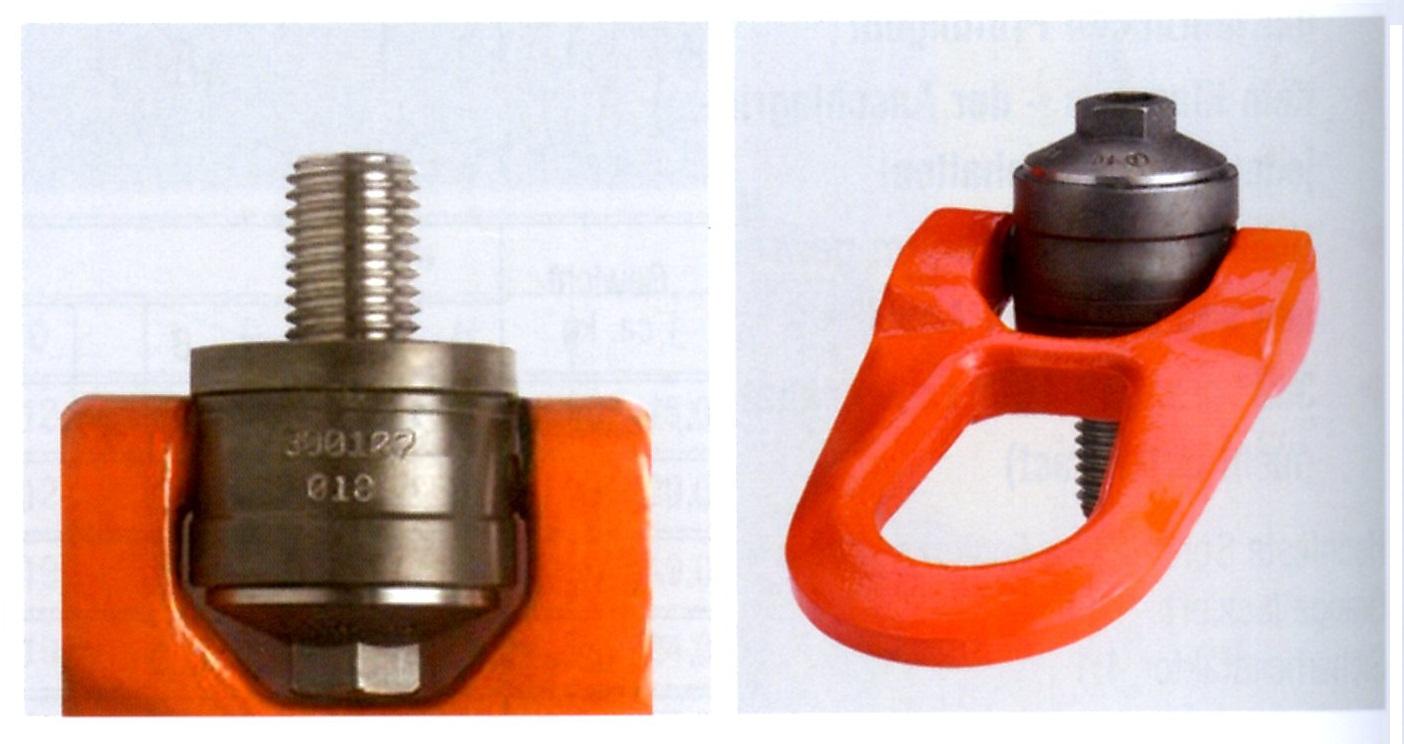 ESCO エスコ 6.30t /M30x45mm回転スイベル吊り環