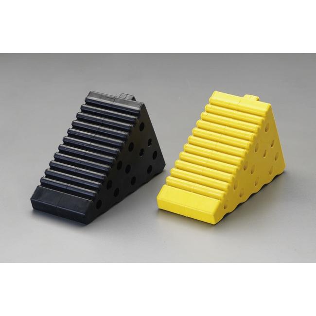 ESCO エスコ その他、ガレージツール 120x175x250mmタイヤストッパー(黄)