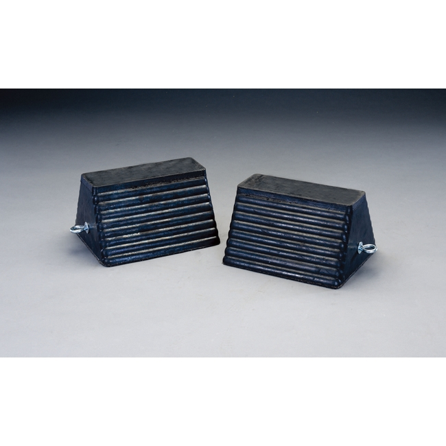 ESCO エスコ 292x254x184mmホイールチョーク(ゴム製/2個)