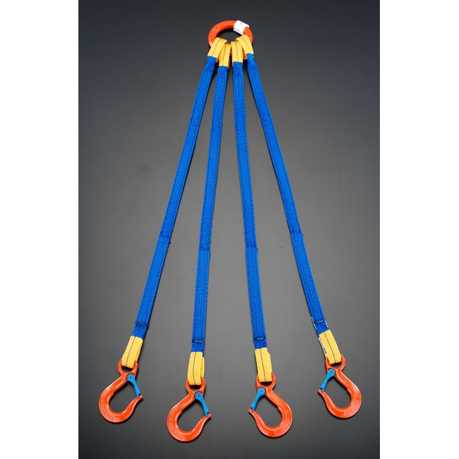 ESCO エスコ 5.0t x3.0m[4本吊り]金具付スリング