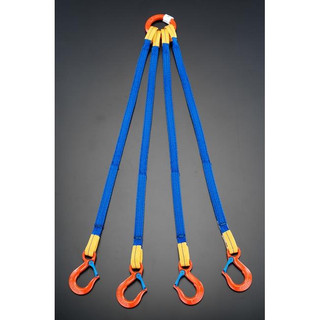 ESCO エスコ 2.0t x1.5m[4本吊り]金具付スリング