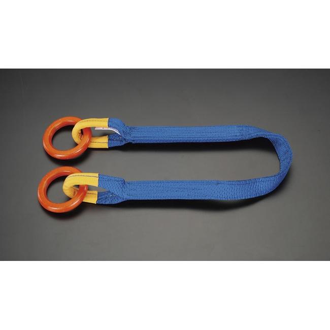 ESCO エスコ その他、ガレージツール 1.0t x1.5m[1本吊り]両端金具付スリング