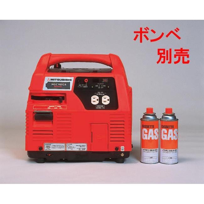 【ESCO】【エスコ】【】【発電機】【AC100V/0.85kw(DC12V)発電機(ポータブルガス式)】