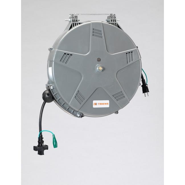 ESCO エスコ AC125V/12Ax10mコードリール(自動巻)