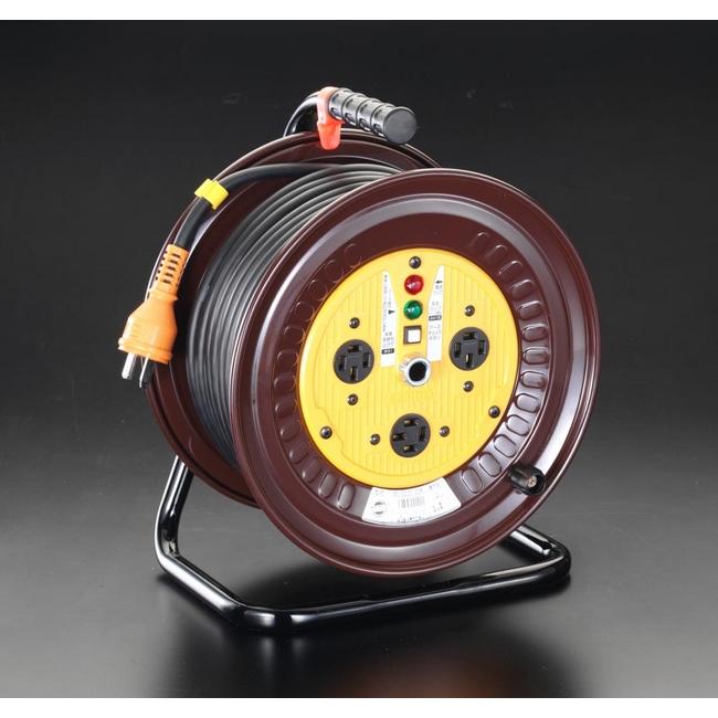 ESCO エスコ 三相200Vx30m電工ドラム