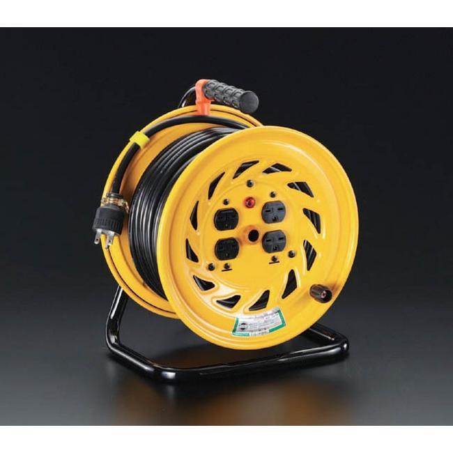 ESCO エスコ その他、配線用ツール 単相200Vx30m電工ドラム