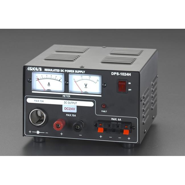 ESCO エスコ その他、配線用ツール AC100V→DC24V直流安定化電源