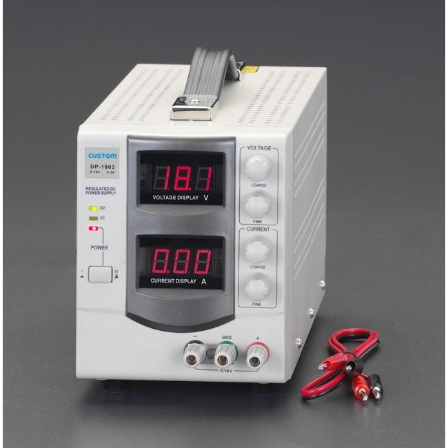 ESCO エスコ その他、配線用ツール 0-30V/0-3A直流安定化電源