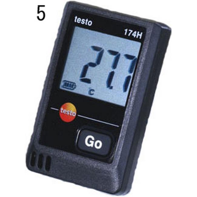 ESCO エスコ その他、計測ツール 温湿度データロガ