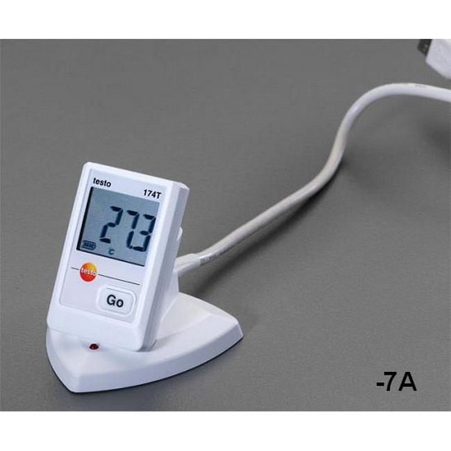 ESCO エスコ 温度データロガ[USBタイプソフト付]