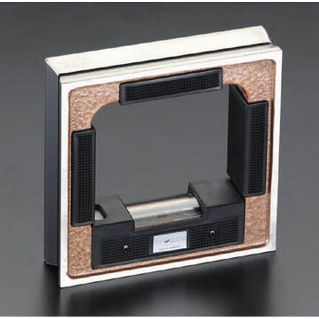 ESCO エスコ 200x200mm(0.04mm/m)精密レベル