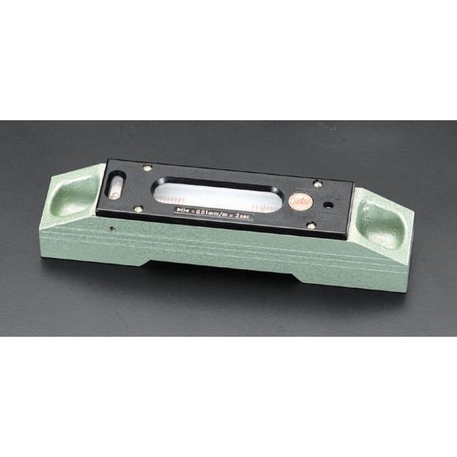 ESCO エスコ 300mm(0.01mm/m)精密レベル