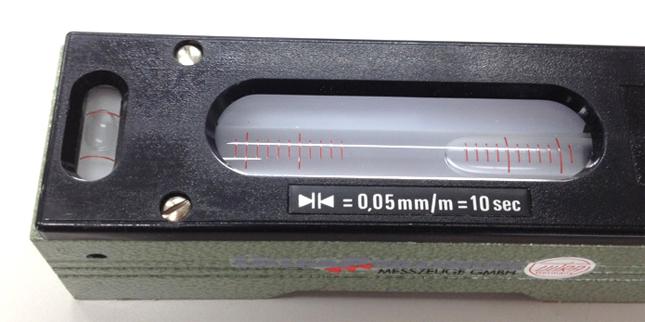 ESCO エスコ 140mm(0.05mm/m)精密レベル
