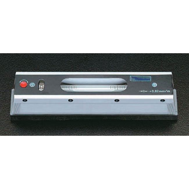 ESCO エスコ 300mm(0.02mm/m)精密レベル