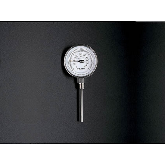 ESCO エスコ 0/100度/50mmバイメタル式温度計