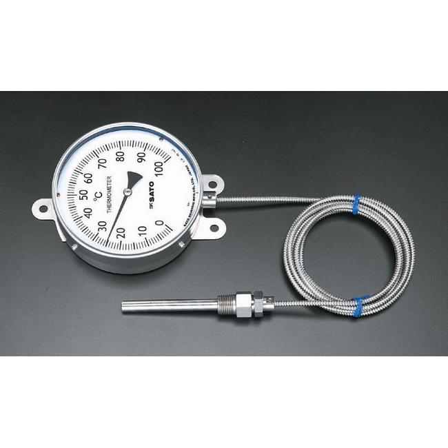 ESCO エスコ その他、計測ツール 0/100度隔測温度計[154mm]