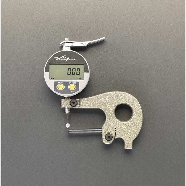【爆売り!】 ESCO エスコ 0-10mmパイプシクネスゲージ(デジタル):ウェビック 店 TOP-その他