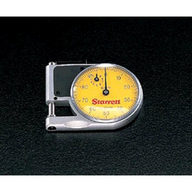 ESCO エスコ その他、計測ツール 0-9mmシクネスゲージ(ダイアル付)