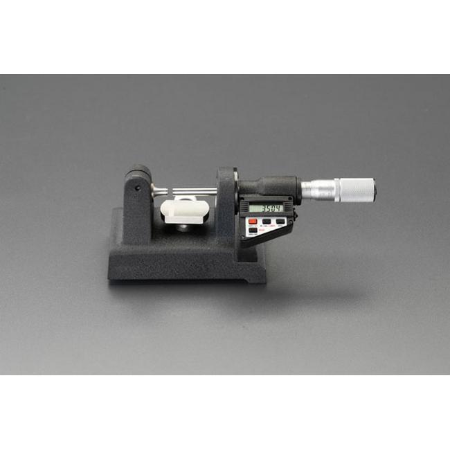 ESCO エスコ その他、計測ツール 0-25mmデジタルベンチマイクロメーター/PC対応