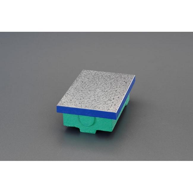 ESCO エスコ その他、計測ツール 300x300x85mm[JIS0級]精密検査用定盤