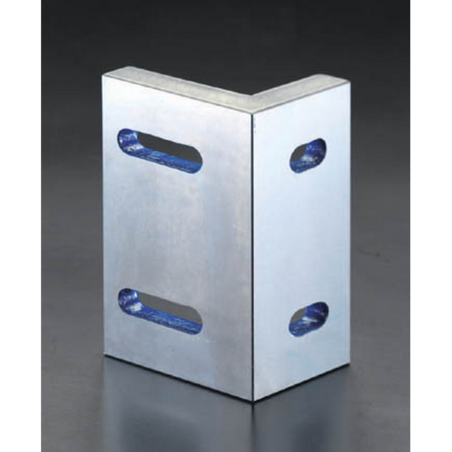 ESCO エスコ 200x100x150mm[2面研磨]アングルプレート