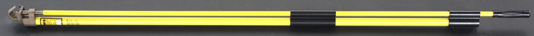 ESCO エスコ 1.2m首振りヘッド型ホールディングポール