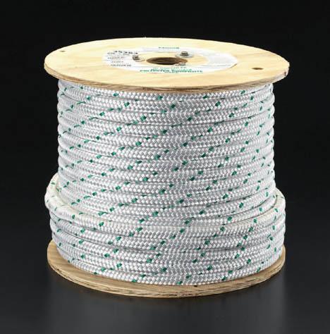 ●日本正規品● 直径22.2x91mプーリングロープ:ウェビック 店 エスコ ESCO その他、配線用ツール-その他
