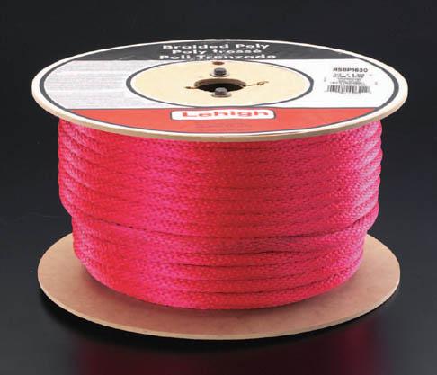 ESCO エスコ 直径12.7x90mポリロープ(赤)