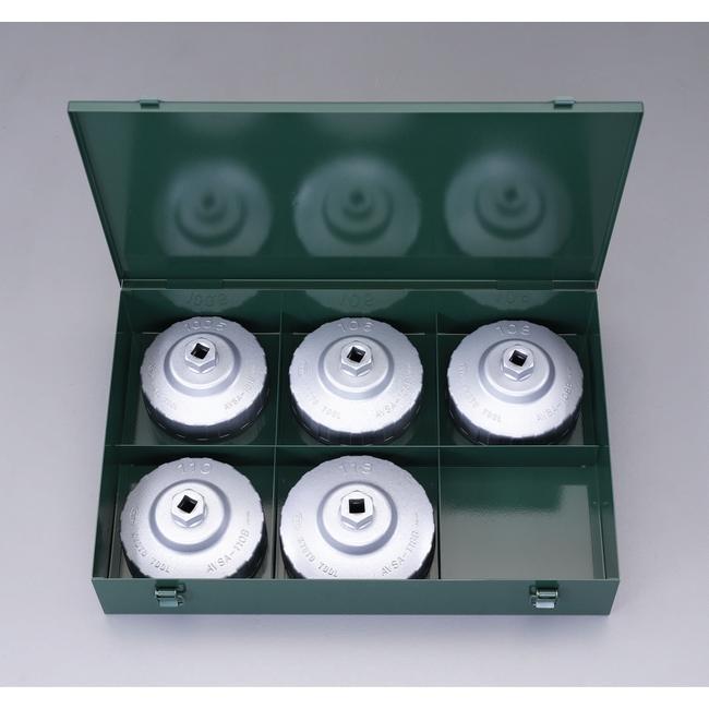 ESCO エスコ その他、レンチ 5個組カップ型オイルフィルターレンチセット