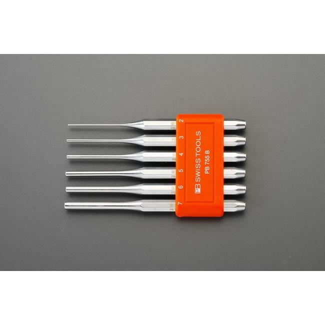 ESCO エスコ [2-7mm]6本組ピンポンチセット