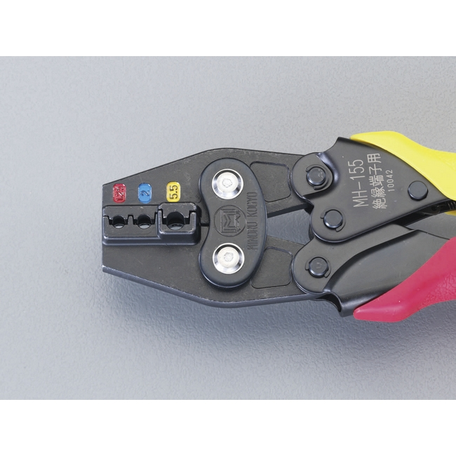 ESCO エスコ その他、配線用ツール 1.25/5.5mm2圧着ペンチ(絶縁端子用)