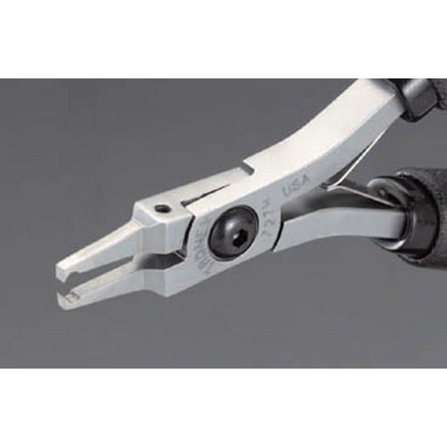 ESCO エスコ 120mm精密用エンドニッパー(OPフラッシュ/ESD)