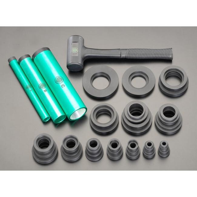 100%本物保証! エスコ ESCOESCO エスコ 10-50mmベアリング挿入工具セット, プロショップシミズ:f6f7396a --- mail.analogbeats.com