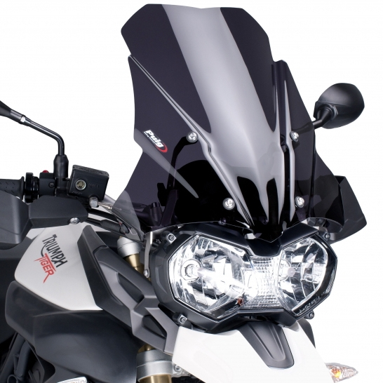 Puig プーチ ツーリングスクリーン カラー:クリア TIGER 800 11-17 TIGER 800 XC 11-17